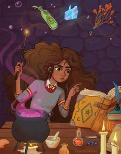 Hermione Granger by Loquacious Literature