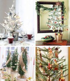 Árboles navideños pequeños