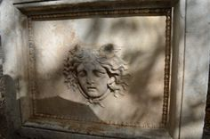 Detail of Aphrodisias a Medusa