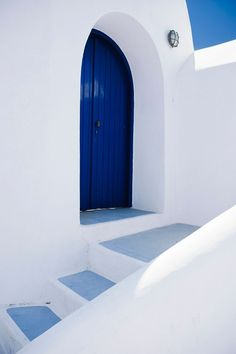 Door Detail - Thira, Santorini, Greece by Nathan Richardson on 500px