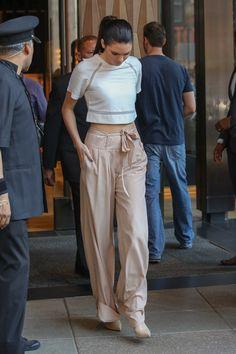 Kendall Jenner seen leaving her hotel in New York City
