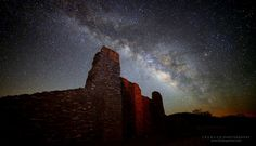 Ruins and the Milky Way in New Mexico  - http://earth66.com/exposure/ruins-milky-way-new-mexico/