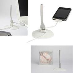 Organizador de cables en forma de tenedor con soporte de lo mejor para tener tu mesa ordenada sin cables