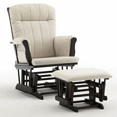 Graco Cribs Avalon Glider and Ottoman in Espresso - Click to enlarge