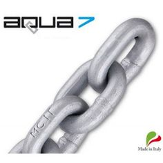 8mm AQUA7 Hi Tensile G70 Maggi Anchor Chain