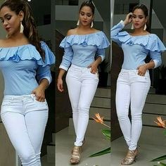 Pin by nonny eddie on chicky tops Fashion Wear, Girl Fashion, Fashion Dresses, Fashion Clothes, Pretty Outfits, Cool Outfits, Casual Outfits, Fashionable Outfits, African Wear