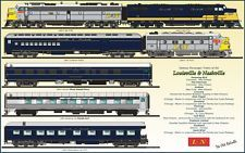 Items for sale by east_hamlet_jct Train Drawing, Train Posters, Train Art, Nashville, 2d, Trains, Illustrations, Park, World