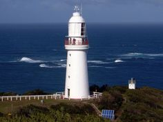 Cape Otway lighthouse, first lit in 1848, is the oldest lighthouse in Australia