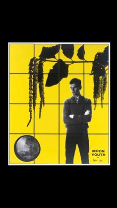 "Gilbert and George - "" Moon Youth "", 1982 - Sixteen hand-dyed gelatin silver prints in artist's frames - each : 60,8 x 50,5 cm; overall : 243,2 x 202 cm"
