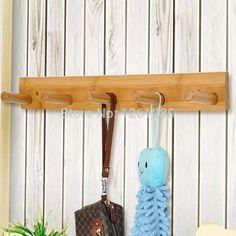 Resultado de imagem para cabide bambu para lojas