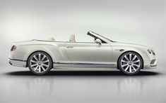 Download wallpapers Bentley Continental GT, 2018, Convertible, Galene Edition, white luxury cabriolet, British cars, tuning, 4k, Bentley