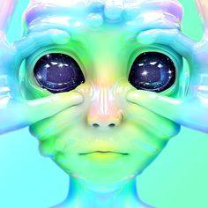 Aliens shared by Lew on We Heart It Cartoon Kunst, Cartoon Art, Alien Aesthetic, Psychedelic Drawings, Acid Art, Alien Concept Art, Aliens And Ufos, Hippie Art, Retro Futurism