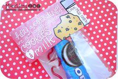 Hey Valentine! We go together like cookies & milk!