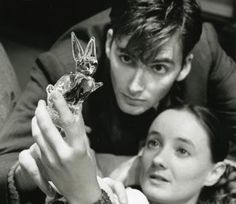 The David Tennant Visual Filmography - pictures of a very young David Tennant