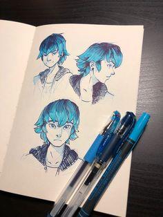 Art by: http://junryou.tumblr.com/post/172508887994/luka-warmups