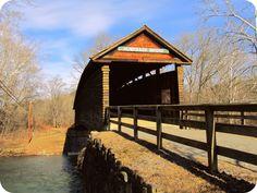 Humpback Bridge, Covington VA Oldest remaining covered bridge in VA.
