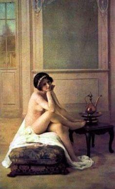 Louis-Amédée Mante, 1895-1898. Autochrome ®Famille Mante