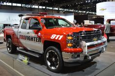 2014 Chicago Auto Show Must See Cars - Chevrolet Silverado Z71 Volunteer Firefighter Concept Vehicle