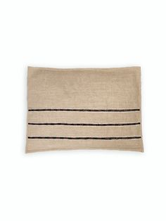 j-b-j interiors strozzi simple cushion cover hand embroidered natural linen front view