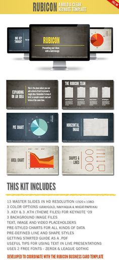 Minimalist Presentation  Creative Template And Keys