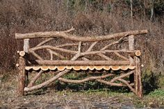 'The Animal Kingdom Bench'  (6' Eastern Red Cedar Bench)  - This bench can be seen at Animal Kingdom, Disney World, FL.