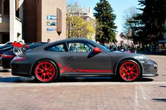 Porsche GT3 RS at the Red Square Car Show at UW