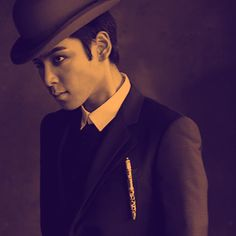 T.O.P. This is a seriously eerie photo, but he still manages to be gorgeous!