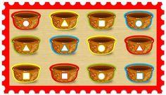 Infantil Mercedarias: figuras de colores