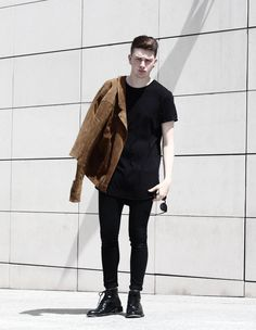 #men #outfit #black #style #streetstyle