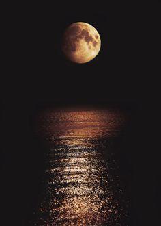 the moon . <3