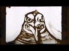 MAORI CREATION STORY: Indigenous artist, Marcus Winter, tells the Māori creation story using Sand Art. In the Māori worldview, the world began with the violent separation of Ranginui, the Sky Father, and Papatuanuku, the Earth Mother, by their children, including Tūmatauenga (similar to Kū), Tāne (Kāne), Rongo (Lono, god of cultivated food), and Tangaroa (Kanaloa, the god of the sea).