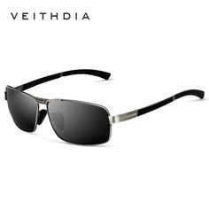 4d9f827062464 Encontre mais Óculos de sol Informações sobre VEITHDIA ÓCULOS de Marca  óculos de Sol dos homens