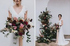 Stylish Autumnal Wedding Shoot From Top UK Wedding Suppliers The Wedding Collective | Images by Matt Horan Photography