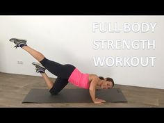 40 Minute Full Body Strength Workout – Total Body Strengthening And Toning Workout - YouTube