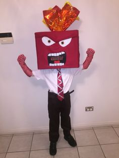 Costume of anger from inside out