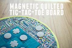 Magnetic tic tac toe!