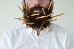 Beard and Pencils http://willitbeard.tumblr.com/