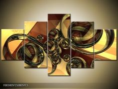 Abstraktné obrazy - TopObrazy.sk Transformers, Shoe Rack, Canvas, Products, Tela, Shoe Racks, Canvases, Gadget