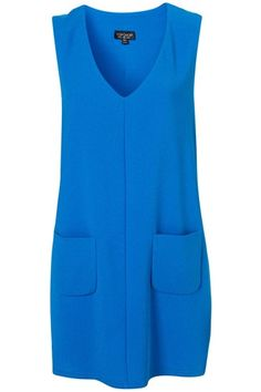 Under $100: Some Color For Your Work Wardrobe #refinery29  http://www.refinery29.com/colorful-affordable-work-clothes#slide-8  Topshop Pocket Dress, $80, available at Topshop.