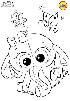 Cuties Coloring Pages for Kids - Free Preschool Printables - Slatkice Bojanke - Cute Animal Coloring Books by BonTon TV Coloring Sheets For Kids, Cute Coloring Pages, Colouring Pics, Coloring Pages For Kids, Coloring Books, Shopkins Colouring Pages, Kindergarten Coloring Pages, Disney Princess Coloring Pages, Book Folding Patterns