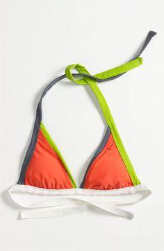 BCA Colorblock Halter Bikini Top - Nordstrom