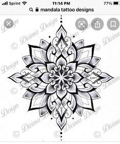 Cool Chest Tattoos, Chest Tattoos For Women, Chest Piece Tattoos, Body Art Tattoos, Small Tattoos, Tattoos For Guys, Tatoos, Geometric Mandala Tattoo, Mandala Tattoo Design