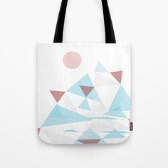 WinterScape  #society6  #buyArt #decor Tote Bag by Mirimo | Society6
