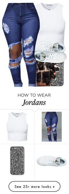 """""""got them shoes can't wear them tho """" by jordanv on Polyvore featuring Estradeur"""