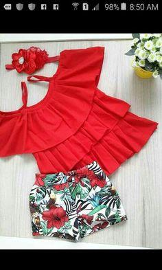 Most Beautiful Dresses, Beautiful Outfits, Baby Girl Fashion, Kids Fashion, Toddler Girl Dresses, Girls Dresses, Short Outfits, Kids Outfits, Baby Girl Closet