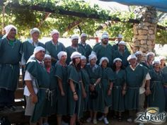 Here's another shot of our crew at kfar kedem, Israel on one of our tours. 2012