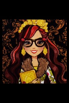 Ever After High Rosabella Beauty. Rosabella is the daughter of Beauty and The Beast and is Briar Beauty's cousin. She is a Ever After Rebel.