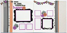 'Making Connections CTMH' Scaredy Cat Scrapbook Layout Kit