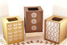 Square Party Lantern/ Luminary paper craft - Easy Paper Crafts