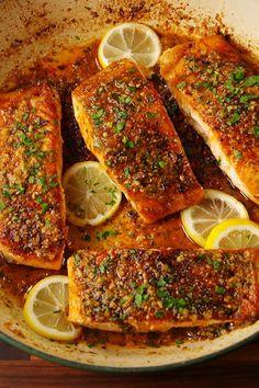 Cajun Parmesan Salmon  - Delish.com